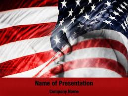Flag Of The United States Of America Powerpoint Templates