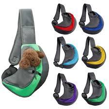 <b>Pet Puppy Carrier Outdoor</b> Travel Dog Shoulder Bag Mesh Single ...
