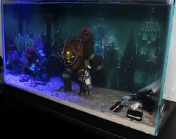 Mario Brothers Aquarium Decorations 17 Best Images About Nerdy Fish Tanks On Pinterest Bioshock