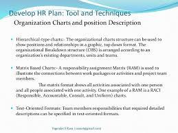 project human resource management 6 develop hr plan