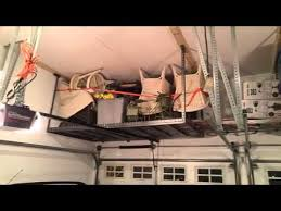 New Age Ceiling Storage Rack Inspiration New Age Overhead Storage Rack YouTube