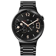 huawei smartwatch black. huawei watch black stainless steel with link band (u.s. warranty) smartwatch n
