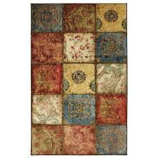 artifact panel multi 6 ft x 9 ft area rug
