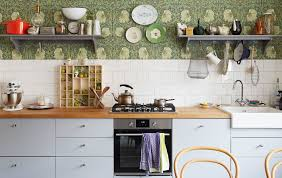 Adorable space saving kitchen pantry ideas Kitchen Storage Kitchen With Grey Cabinets And Builtin Cooker Wooden Worktops And Shelves Forbes Ideas Ikea