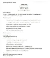 Accounting Resumes Samples Adorable 44 Sample Accounting Resume Templates PDF DOC Free Premium