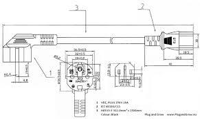 c13 female power cable to euro schuko plug cee 7 7 1 5m iec c13 female power cable to euro schuko plug cee 7 7 1 5m