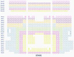 Moa Seating Chart Reserved Seating Chart Creation And Setup Thundertix