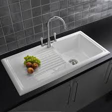 drop in white kitchen sink modren drop overmount kitchen sink drop in sinks single bowl