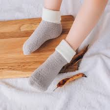 get ations 2016 new autumn and winter gray blue home floor socks towel socks children socks thick c