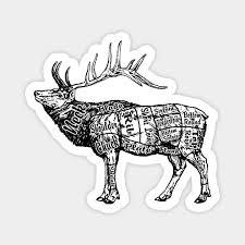 Elk Butcher Chart