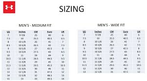 Under Armour Shoe Conversion Chart 19 Matter Of Fact Under Armour Base Layer Size Chart