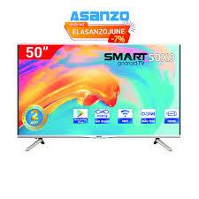 Mã ELCERE giảm 5% đơn 2 triệu] Smart Tivi 4K Asanzo 50 inch - 50X9