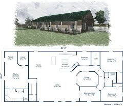 2 story barndominium floor plans metal homes plans 5 bedrooms and 2 bathrooms barndominium floor of