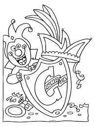 Kleurplaat Prins Carnaval Prins Carnaval Kleurplaten Pinterest