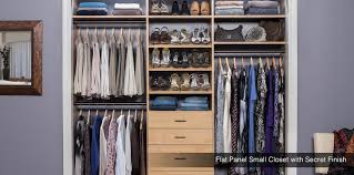 small custom closet custom walk
