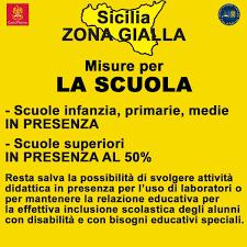 Sicilia zona gialla da oggi, tutte le nuove regole in foto - QdS