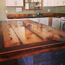 best diy countertops barn wood countertop 9273 baytownkitchen inside diy wood kitchen countertops