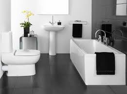 black and white bathroom furniture. Bathroom Round Spacious Bathtub Light Grey Small Wall Modern Gray Color Curved Shower Glass Doors · Classic Black And White Furniture R