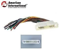 buick pontiac car stereo cd player wiring harness wire aftermarket Wiring Harness Diagram at Gm07b Wiring Harness