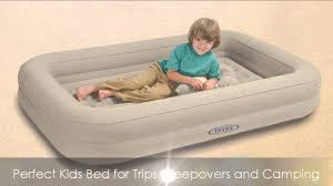 intex kidz travel bed with hand pump