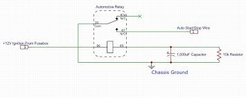 ford f150 auto start stop disable for good 7 steps picture of construct disable circuit outside car