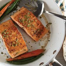 Crispy Salmon in Pan Drippings Recipe ...