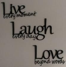 live love laugh wall decor wood inspiring