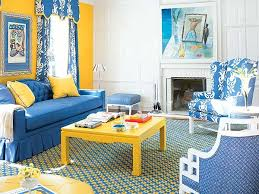pictures of yellow and blue living rooms studio blue yellow living room