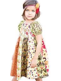 Peasant Dress Pattern Extraordinary Kids Clothes Sewing Pattern Jewel's Stripwork Peasant Dress
