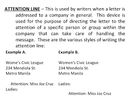 Basic Business Letters Basic And Miscellaneous Parts Of Business Letter