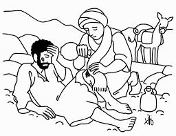 Good Samaritan Coloring Page Naxk Coloring Pages Bible Stories