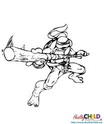 teenage mutant ninja turtles coloring pages healthychild net