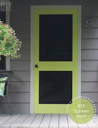 a great way to add some color to your front porch is by building a screen