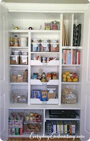 pantry reveal and organizing tips at nina hendrick everyday enchanting