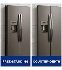 counter depth refrigerator vs standard. For Counter Depth Refrigerator Vs Standard