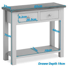 painted console table. Farrow Grey Console Table Painted M