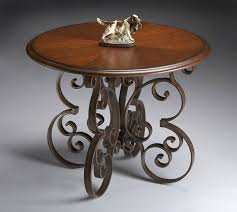 half round foyer table