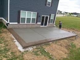 concrete patios warrenco construction