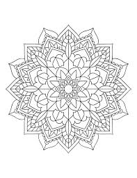 Not to mention the mandalas, an artistic activity practiced for centuries, and our art. Mandala Coloring Pages Adult Coloring Sheet Printable Etsy