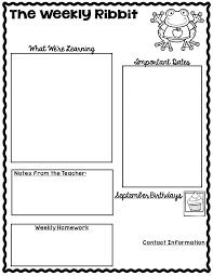 Teacher Newsletter Clipart
