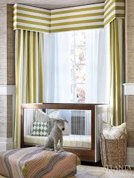 cozy horizontal stripe valance with vertical stripe curtains in bay window graphic horizontal striped curtains
