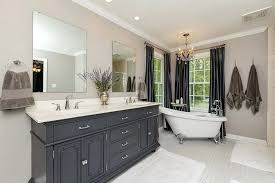 interesting bathrooms with clawfoot tubs and showers traditional master bathroom with freestanding tub and square field