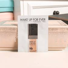 makeup forever ultra hd liquid foundation makeup sle 120 y245 1ml health beauty makeup on carousell