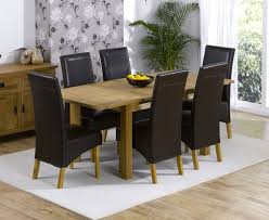 awesome oak dining table and chairs for 18 about remodel used amazing oak dining tables