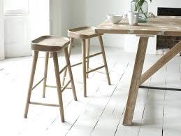 wooden kitchen stools oak bar