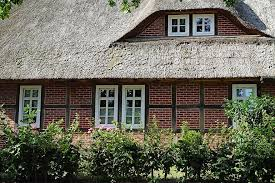 Produse din lemn pentru constructii. Cabana De Palha Luneburg Heath Casa Telhado De Sape Colmado Janelas De Trelica Norte Da Alemanha Pikist