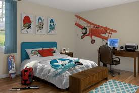 Awesome Airplane Themed Interior Bedroom Decor