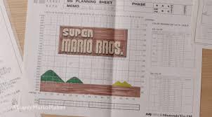 Nintendo Used To Design Super Mario Levels On Graph Paper Offworld