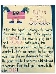 Ellie The Equal Math Anchor Charts Teaching Math Math