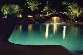 excellent outdoor pool lights excellent landscape lighting connects all the elements of your outdoor lighting